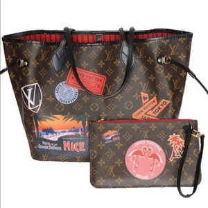 Handbags - LOUIS VUITTON WORLD TOUR MM NEVERFULL 30